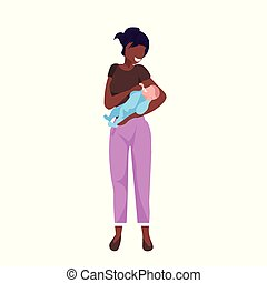 平ら, わずかしか, 概念, 保有物, 家族, アフリカ, 子供, アメリカ人, レース, 新生, 混合, 長さ, 女, フルである, 背景, 母, 赤ん坊, 白, 幸せ