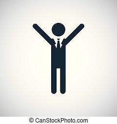 平ら, 概念, 成功, 単純である, 要素, デザイン, アイコン