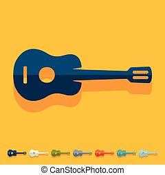 平ら, design:, ギター