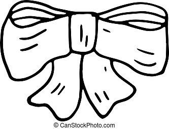 平ら, sketch., isolated., いたずら書き, 白, シンボル。, イラスト, 手, 装飾, バックグラウンド。, ベクトル, 黒いタイ, handdrawn, 引かれる, icon., 印, 漫画, element., design.