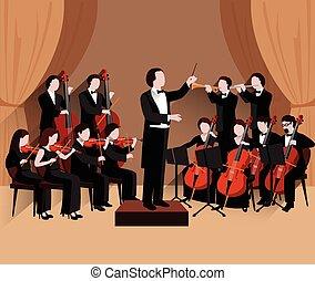 平ら, symphonic, オーケストラ