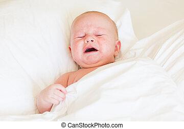 平和である, 泣いている赤ん坊, 新生