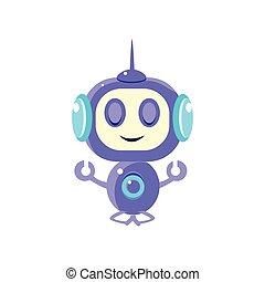 平和に, 瞑想する, ロボット