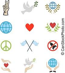 平和, アイコン