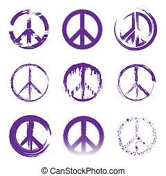 平和, グランジ, サイン