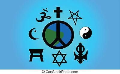 平和, 世界