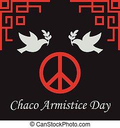 平和, 休戦, day., chaco, 呼ばれる, day.also