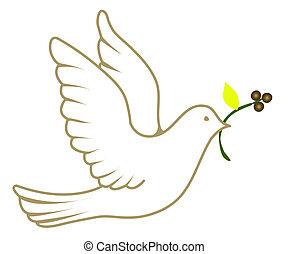 平和, 鳩