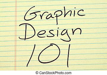 平面造型設計, 101, 上, a, 黃色, 便箋簿