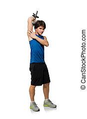 年輕人, 藏品, weightlift