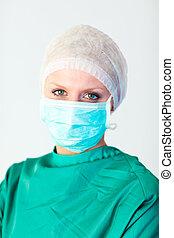 年輕, 女性 醫生