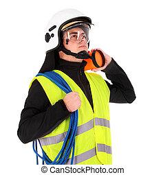 年輕, 消防人員