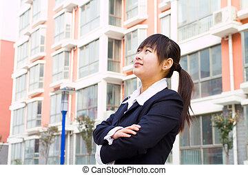 年輕, 漢語, 女商人