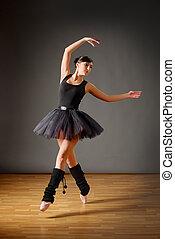 年輕, 跳舞, 芭蕾舞女演員