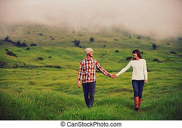 年轻夫妇, 在爱中