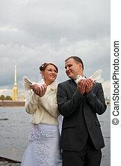 年轻, 婚礼夫妇