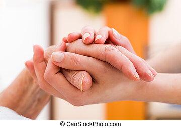 年配, 患者, 必要性