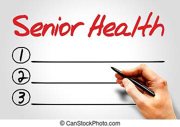 年長の健康