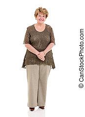 年長の 女性, 幸せ