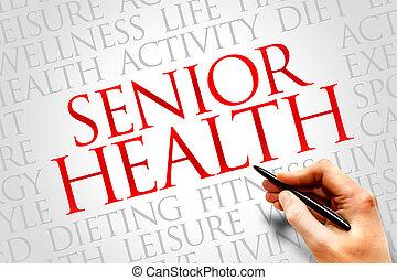 年長者, 健康
