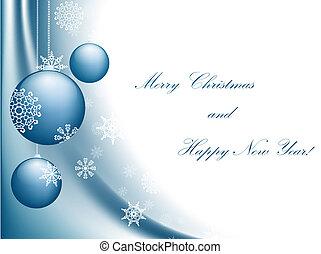 年, 幸せ, メリークリスマス, 新しい