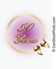 年, 記念, 50