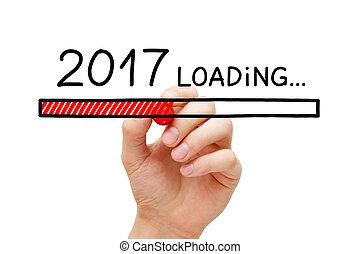 年, 2017, ローディング, 概念