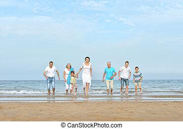 幸せな家族, ∥において∥, 浜