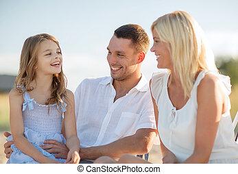 幸せな家族, ピクニックをする