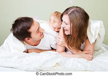 幸せな家族, 寝室