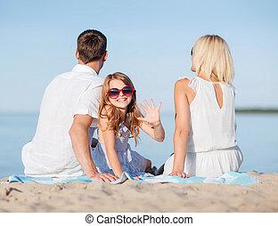 幸せな家族, 浜