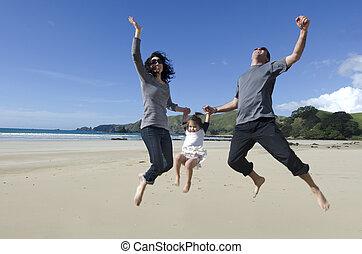幸せな家族, 若い