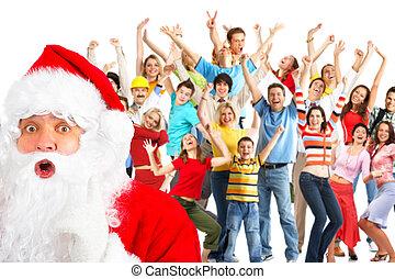 幸せな クリスマス, 人々