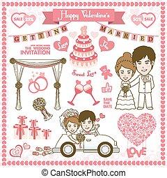 幸せ, カード, バレンタイン