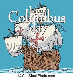 幸せ, コロンブス日