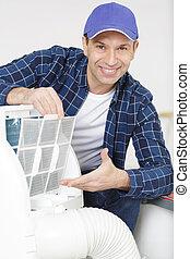 幸せ, コンディション調整, 空気, 修理, handyman