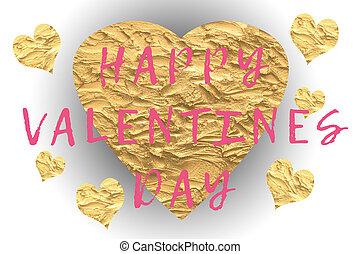 幸せ, バレンタインデー, テキスト, ∥で∥, 愛 中心