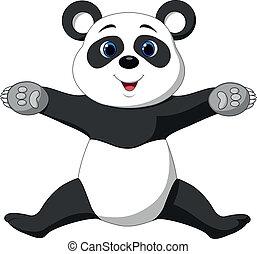 幸せ, パンダ, 漫画