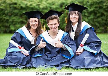 幸せ, 卒業生, 生徒