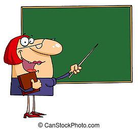 幸せ, 女性の教師