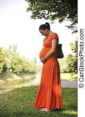 幸せ, 妊娠