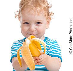 幸せ, 子供, ∥あるいは∥, 子供の食べること, バナナ