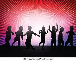 幸せ, 子供, ダンス