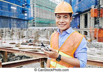 幸せ, 建築現場, エンジニア