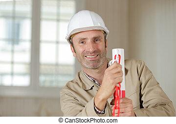 幸せ, 建築者, 仕事