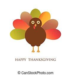 幸せ, 感謝祭, ∥で∥, トルコ, ベクトル, カード
