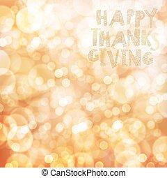 幸せ, 感謝祭, カード, デザイン, template., ぼやけ, 秋, バックグラウンド。, ∥ために∥, 休日, グリーティングカード, デザイン, そして, 他, projects.