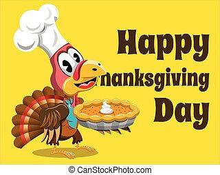 幸せ, 感謝祭, カード, トルコ