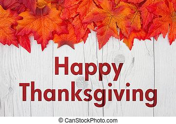 幸せ, 感謝祭, 挨拶