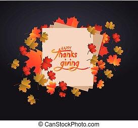 幸せ, 感謝祭, 日, ∥で∥, 紅葉